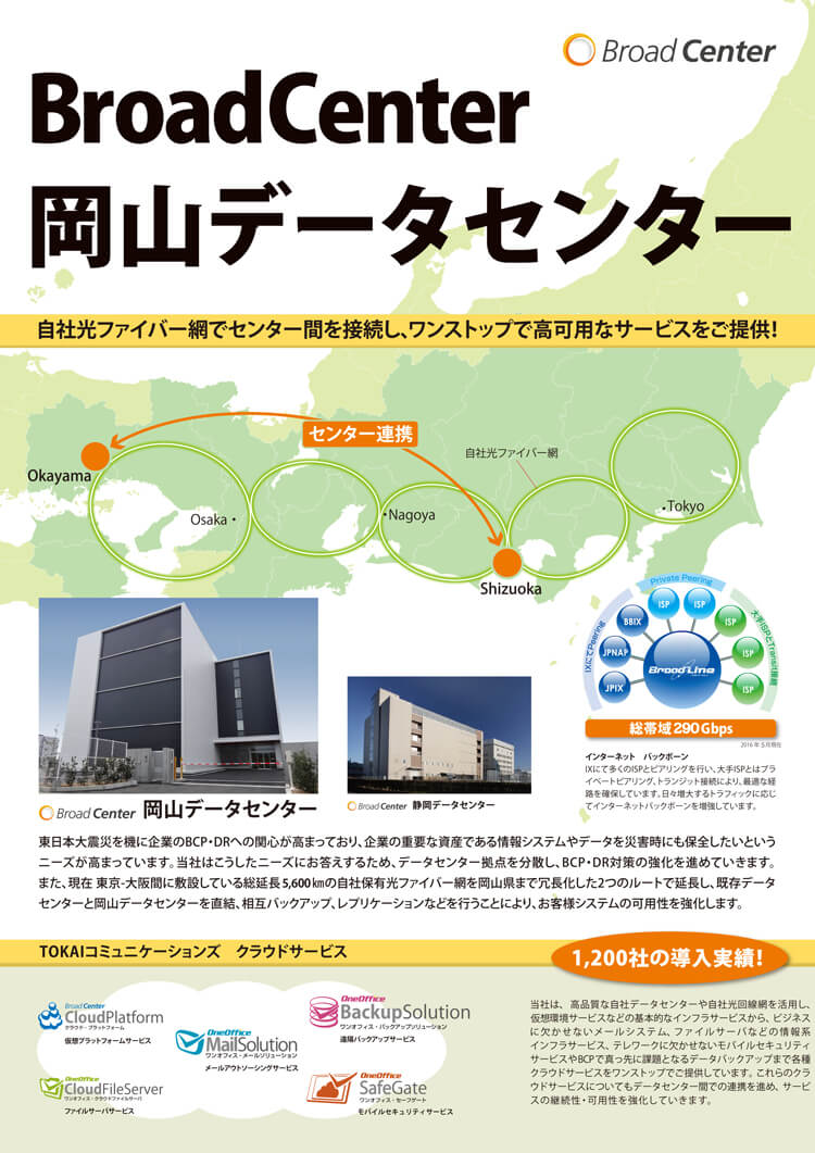 岡山データセンター